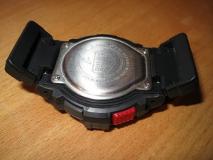 G-Shock mit Adapter